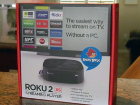 Roku 2 XS in the box